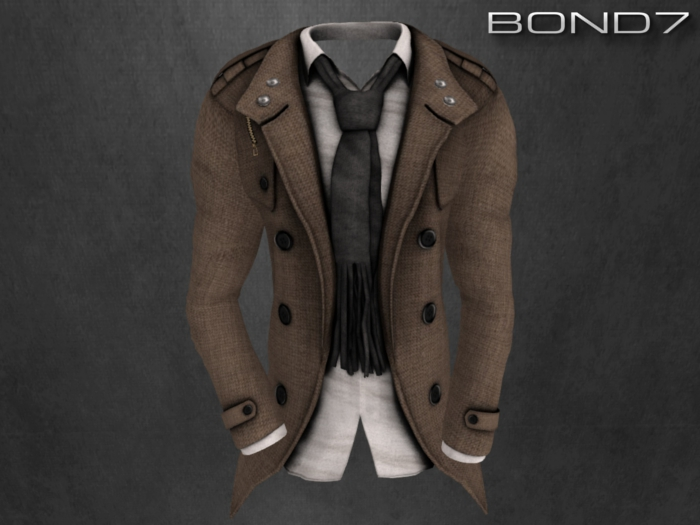 *BOND7* Heath Coat (Light Brown Coat: HUD)