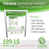 FURWARE personal vendor - Simple and fast vendor