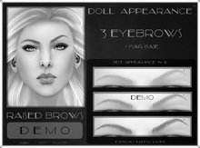 .:DA:. Eyebrow Raised Demo