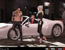 ++Vetrovian Poses - Car Friends ( 4 Car Colors)++