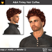 A&A Finley Hair Coffee (Special Color). Delicious rebel men's short hairstyle.