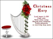 Boudoir Christmas -Christmas Harp