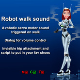 Robot walk sound (boxed)