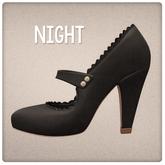 {Mango Cheeks} Adeline Heels: Night (Slink MEDIUM)