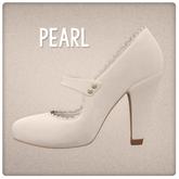{Mango Cheeks} Adeline Heels: Pearl (Slink MEDIUM)