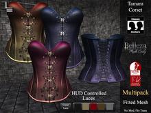DE Designs - Tamara Corset - Silk Multipack