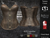 DE Designs - Tamara Corset - Old Leather