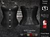 DE Designs - Tamara Corset - Black
