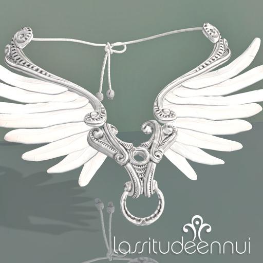 lassitude & ennui Lethe necklace - silver