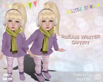 * {.:Little Stars.:} * Dream Winter MESH TD Outfit