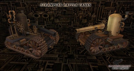 Supreme Steampunk Battle Tanks   *Scored Team Play Enabled*