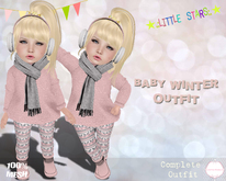 * {.:Little Stars.:} * Baby Winter MESH TD Outfit