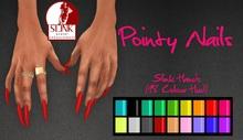 IAF Pointy Nails (Slink Hands) (Elegant 1)