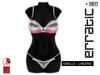 erratic / giselle - lingerie / pink