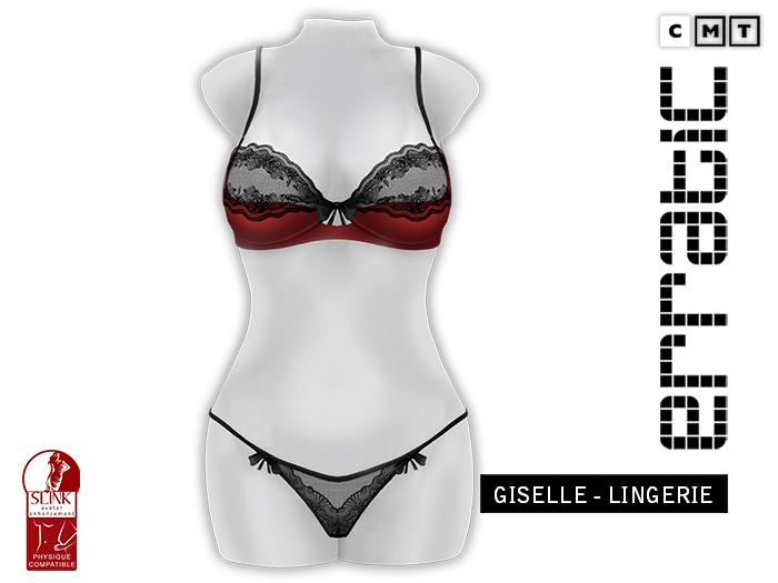erratic / giselle - lingerie / red