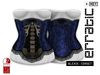 erratic / alexis - corset / blue