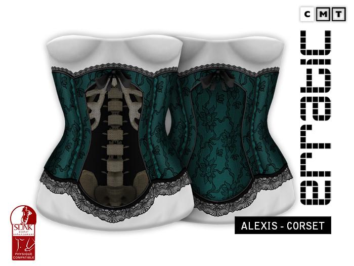 erratic / alexis - corset / green