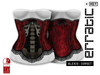 erratic / alexis - corset / red