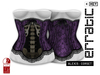 erratic / alexis - corset / purple