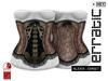 erratic / alexis - corset / nude
