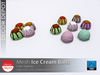 [DD] - FULL PERM  Ice Cream Balls