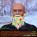 Mesh Christmas Long Beard with Balls - FAT PACK 16 colors