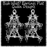 Bish Whet? Earrings Plat(Animated)