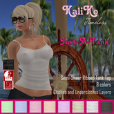 {KT} Just-A-Tank Top - UPDATED
