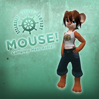 SEC Mouse! Unique mesh avatar!