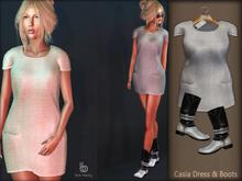 Bens Boutique - Casia Dress & Boots Gray