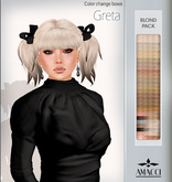 Amacci Hair - Greta - Blond Pack
