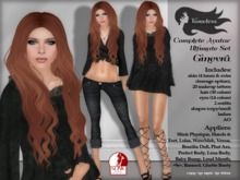 Tameless Complete Female Avatar Ginevra Ultimate Set (slink+lolas+phat azz+wowmeh+loud mouth+baby bump & more)