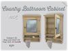 [noctis] Lil vintage cabinet pine BOXED