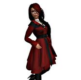 Winter Coat Sara Red- - tm(freeky)
