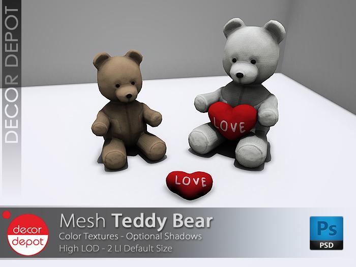 [DD] - FULL PERM Teddy Bear
