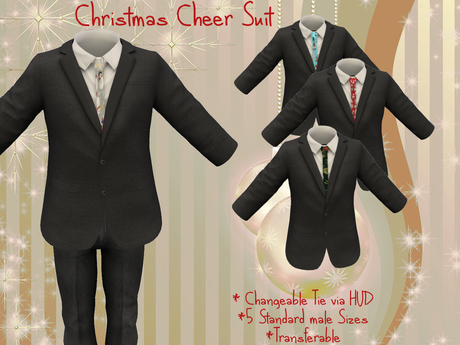 A's Christmas Cheer Suit BOX