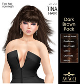 Amacci Hair ~ Tina - Dark Brown Pack
