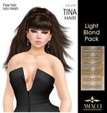 Amacci Hair ~ Tina - Light Blond Pack