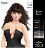 Amacci Hair ~ Tina - Black Pack