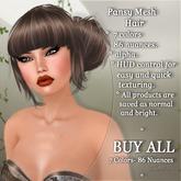 !SOUL - HAIR Mesh - Pansy - BUY ALL - 7 Colors- 86 Nuances