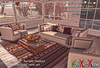 """<HEART HOMES> """"Fall into bliss"""" Autumn themed living room set"""