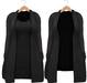Blueberry - Babi - Belleza Venus & Slink Physique Compatible - Cardigan with Optional Dress Black