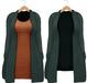 Blueberry - Babi - Belleza Venus & Slink Physique Compatible - Cardigan with Optional Dress Evergreen