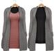 Blueberry - Babi - Belleza Venus & Slink Physique Compatible - Cardigan with Optional Dress Gray