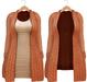 Blueberry - Babi - Belleza Venus & Slink Physique Compatible - Cardigan with Optional Dress Orange