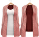 Blueberry - Babi - Belleza Venus & Slink Physique Compatible - Cardigan with Optional Dress Pink