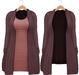 Blueberry - Babi - Belleza Venus & Slink Physique Compatible - Cardigan with Optional Dress Purple