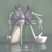 lassitude & ennui Nevermore heels - silver
