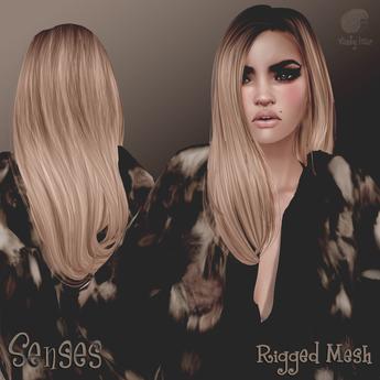Vanity Hair::Senses-Dark Blonds(MESH)