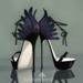 lassitude & ennui Nevermore heels - black